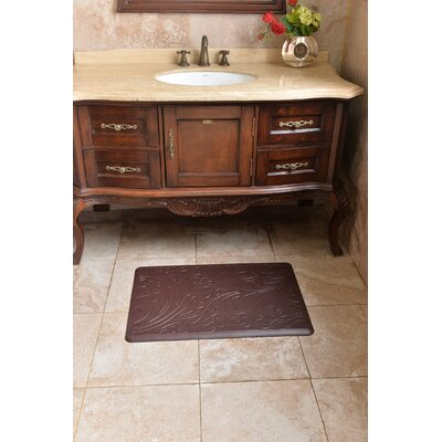 Chef Foam Relief Kitchen Mat Color: Brown