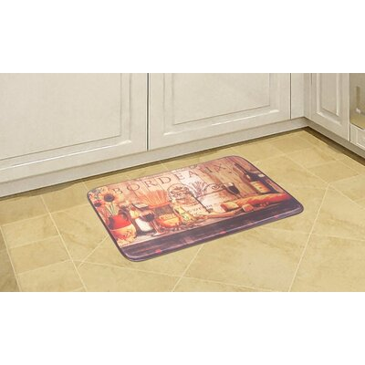 Pasta Bourdeaux Kitchen Mat