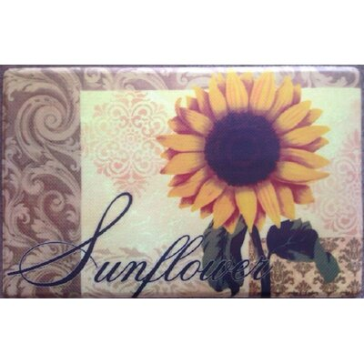 Sunflower Direct Printing Kitchen Mat