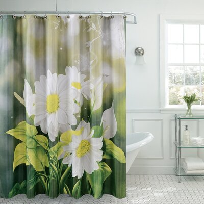 Fancy Daisy Shower Curtain