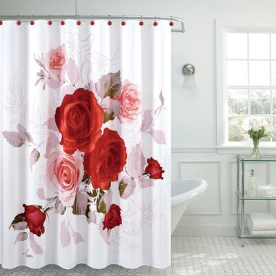 Fancy Roses Shower Curtain