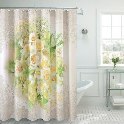 Fancy Tulip Shower Curtain