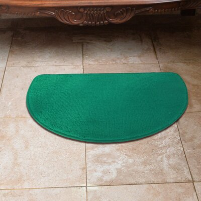 Luxury Slice Kitchen Mat Color: Tropical Green