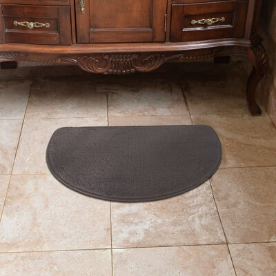 Luxury Slice Kitchen Mat Color: Gray