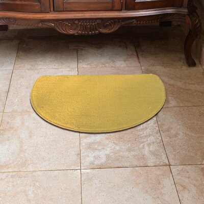 Luxury Slice Kitchen Mat Color: Beige