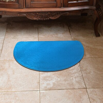 Luxury Slice Kitchen Mat Color: Turquoise