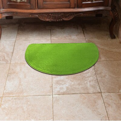 Luxury Slice Kitchen Mat Color: Lime Green