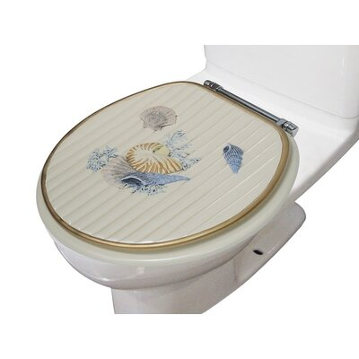 Spa Decorative Round Toilet Seat