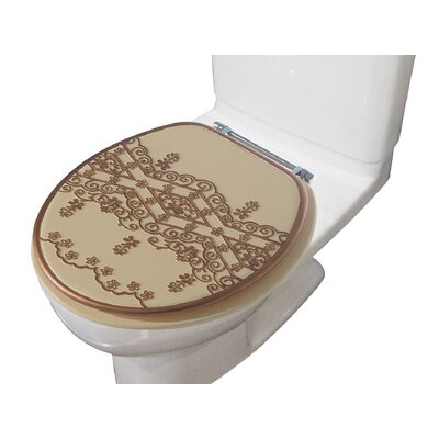 Vivian Decorative Round Toilet Seat