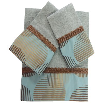 Dream Circle Decorative 3 Piece Towel Set