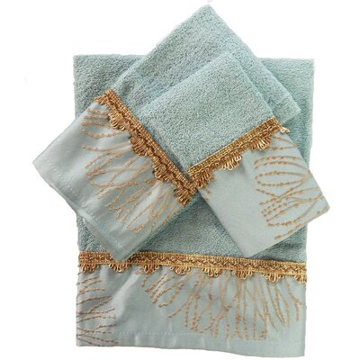 Galaxy Decorative 3 Piece Towel Set
