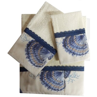 Decorative 3 Piece Towel Set