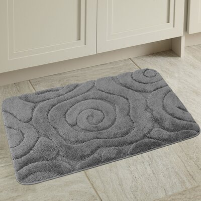 Prestige Spa Bath Rug Color: Gray