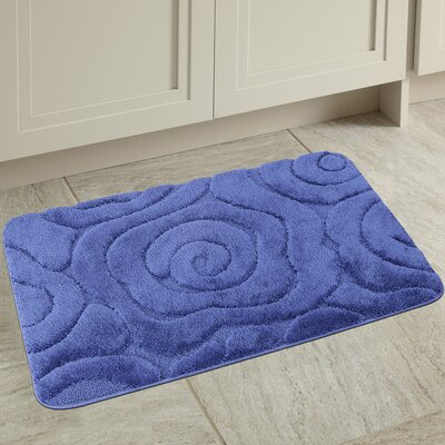Prestige Spa Bath Rug Color: Navy