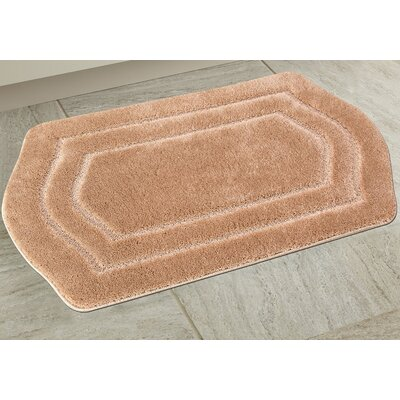 Ultra Spa Bath Rug Color: Beige