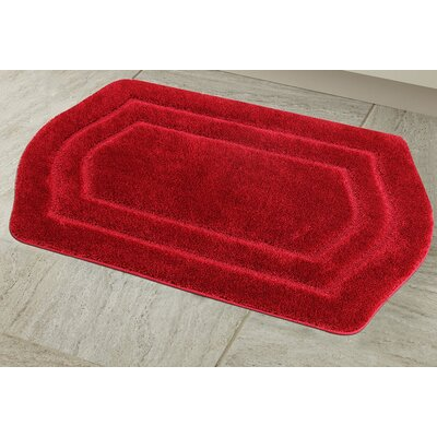 Ultra Spa Bath Rug Color: Burgundy