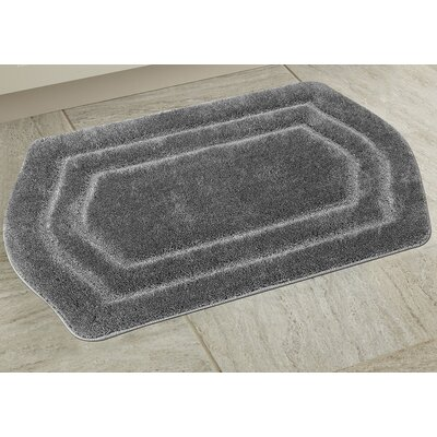 Ultra Spa Bath Rug Color: Gray