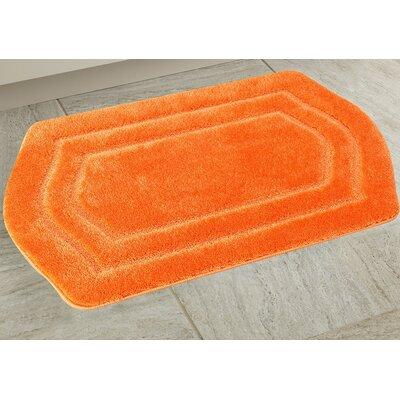 Ultra Spa Bath Rug Color: Orange