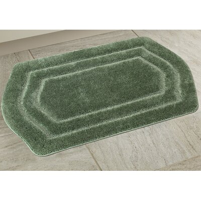 Ultra Spa Bath Rug Color: Sage Green