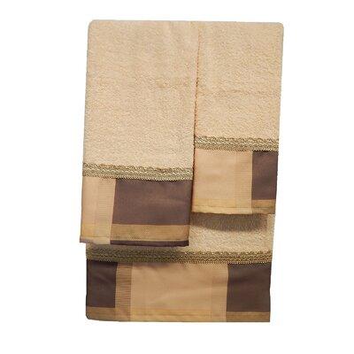 Embellished 3 Piece Towel Set