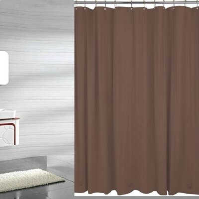 Andrade Shower Liner Color: Brown