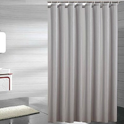 Andrade Shower Liner Color: Gray