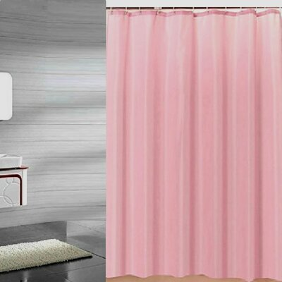 Andrade Shower Liner Color: Rose