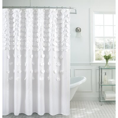 Hornyak Shower Curtain Color: White