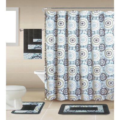 Chrissie Shower Curtain Set