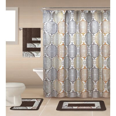 Ponce de Leono Shower Curtain Set