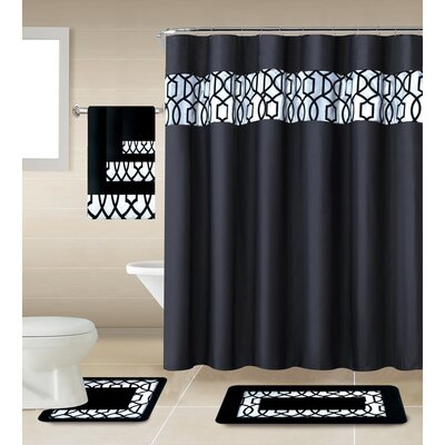 Apeksha Shower Curtain Set