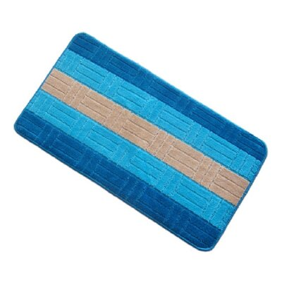 Barbosa Spa Bath Rug Size: 17W x 24L, Color: Turquoise