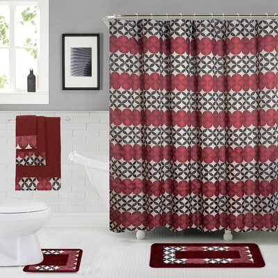 Rosenbloom Shower Curtain Set