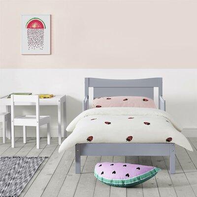 Trek Toddler Platform Bed Color: Gray