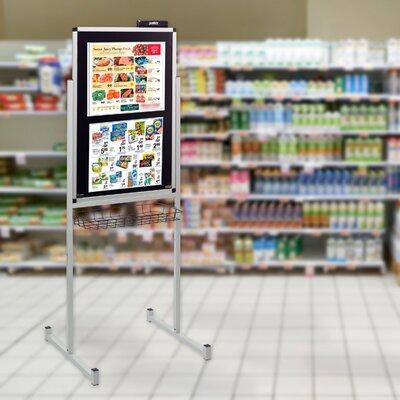 Surface Technology Promo Stand with Overlay