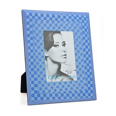 3D Square Picture Frame Color: Blue 20823