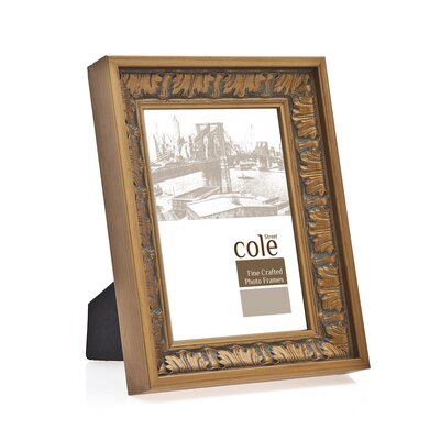 Deep Baroque Wood Picture Frame Size: 8 x 10