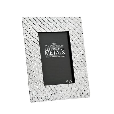 Alternative Metals Mesh Picture Frame
