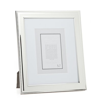 Double Bead Picture Frame Size: 8 x 10