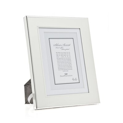 Fine Bead Picture Frame Size: 5 x 7