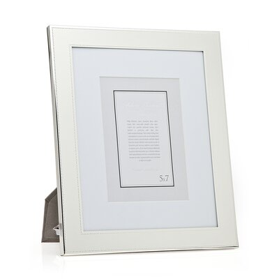 Fine Bead Picture Frame Size: 8 x 10