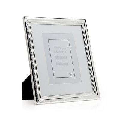 Etched Border Picture Frame Size: 8 x 10 Without Mat/5 x 7 With Mat