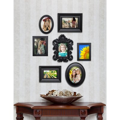 7 Piece Inj Contemporary Picture Frame Set