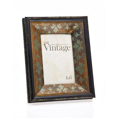 Vintage Rust Leaf Picture Frame