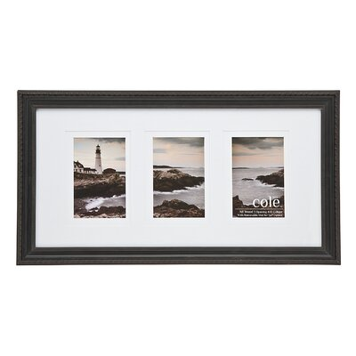 3 Opening Double Matte Kingston Picture Frame