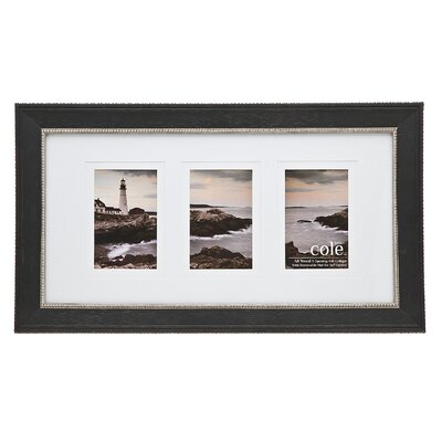 3 Opening Double Matte Bead Picture Frame