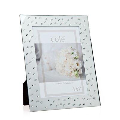 Philip Whitney Diamond Mirror Picture Frame 21105