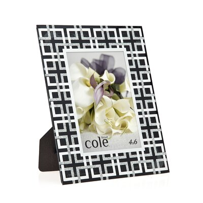 Philip Whitney Geometric Glitter Picture Frame 21106