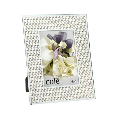 Philip Whitney Honeycomb Glitter Picture Frame 21055