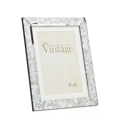 Vintage Mirror Picture Frame
